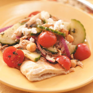 Chicken Pita Salad Recipe