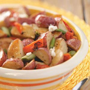 Roasted Potato Salad with Feta Recipe