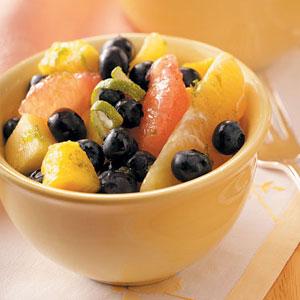 Vanilla-Lime Fruit Salad Recipe