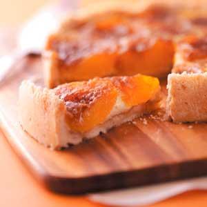 Cinnamon Peach Kuchen Recipe