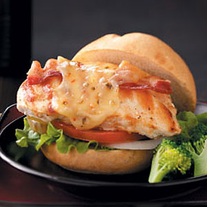 Grilled Pepper Jack Chicken Sandwiches Recipe