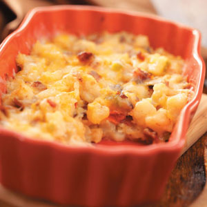 Easy Baked Potato Casserole Recipe