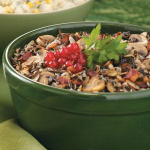 Mushroom Wild Rice Dish Recipe