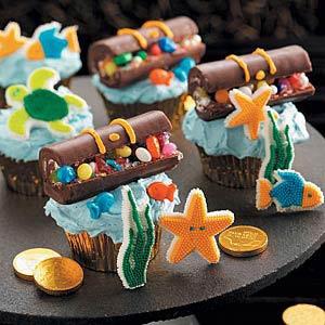 Hidden Treasure Cupcakes Recipe
