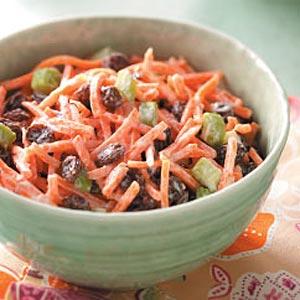 Carrot Raisin Salad for Four Recipe