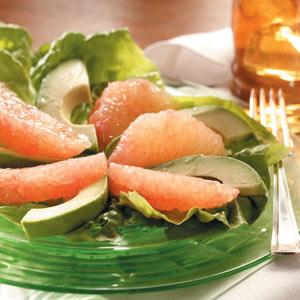 Avocado and Grapefruit Salad Recipe