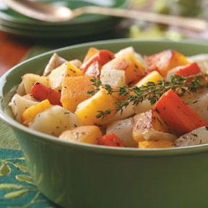 Herbed Slow-Roasted Vegetables Recipe