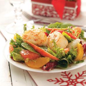 Citrus Scallop Salad Recipe