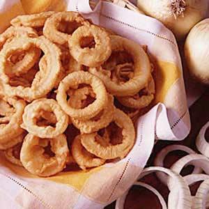 Dad's Onion Rings Recipe