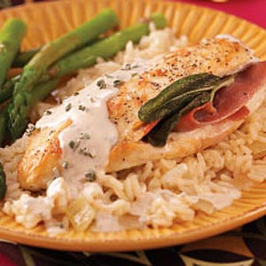 Saltimbocca with Chicken Recipe