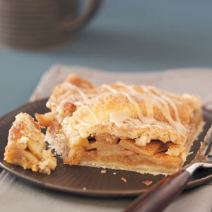 Glazed Apple Pie Squares