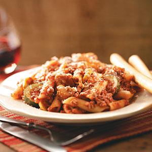 Eggplant Zucchini Bolognese Recipe