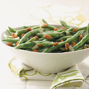 Green Beans with Pecans Recipe