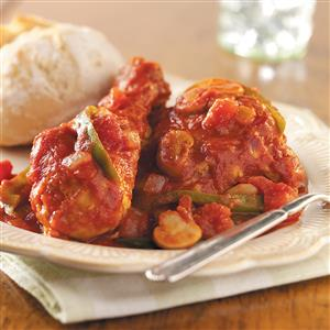 Hearty Chicken Cacciatore