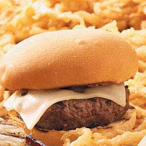 Swiss Steak Burgers for 2 Recipe
