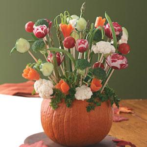 Autumn Pumpkin Centerpiece Recipe