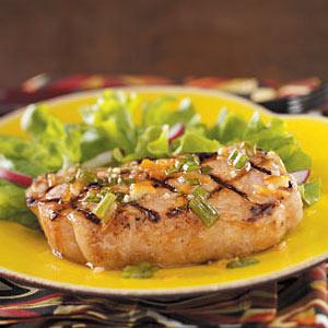 Cajun Orange Pork Chops Recipe