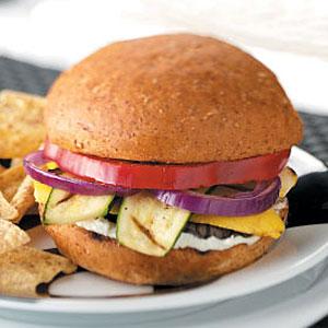 Grilled Veggie Sandwiches Recipe