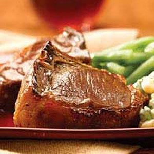 Honey-Glazed Lamb Chops Recipe