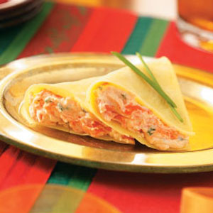 Smoked Salmon Appetizer Crepes Recipe