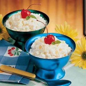 Pineapple Rice Pudding Recipe