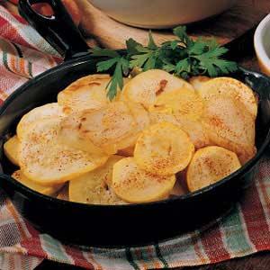 Skillet Squash and Potatoes Recipe