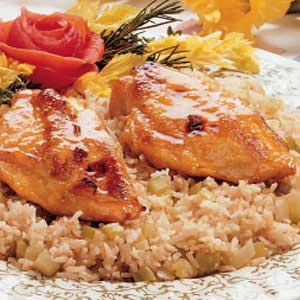 Honey-Baked Chicken for Two