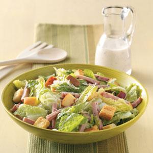 Ham Caesar Salad Recipe