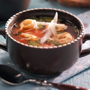 Christmas Tortellini Soup Recipe