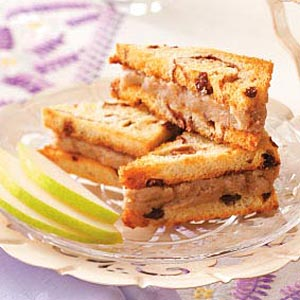 Pear Tea Sandwiches Recipe
