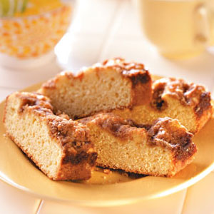 Cinnamon Spiced Coffee Cake Recipe