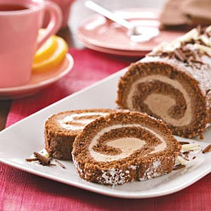 Angel Food Ice Cream Cake Roll