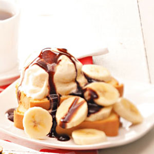 Quick Banana Split Shortcake Recipe