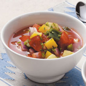 Healthy Gazpacho for 2 Recipe