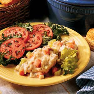 Farmhouse Chicken and Biscuits Recipe