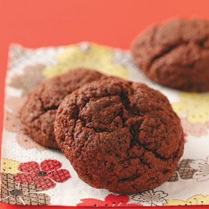 Gooey Chocolate Cookies Recipe