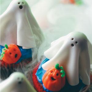 Sugar Ghost Cupcakes Recipe