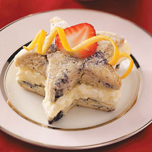 Lemon Blueberry Shortcakes Recipe
