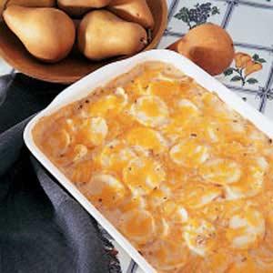 Scalloped Cheese Potatoes Recipe