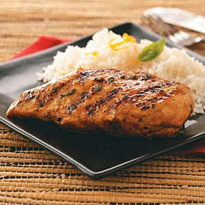 Orange-Maple Glazed Chicken