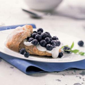 Fresh Blueberry Shortcakes Recipe
