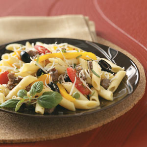 Turkey Pasta Toss Recipe