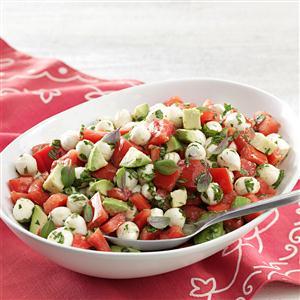 Fresh Mozzarella & Tomato Salad Recipe