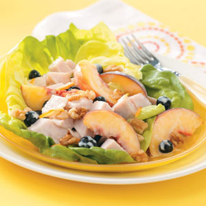 Fruited Turkey Salads Recipe
