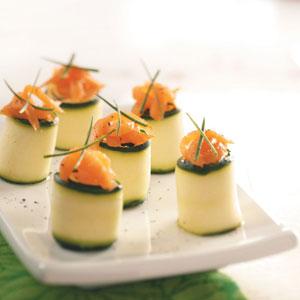 Cucumber Rolls Recipe