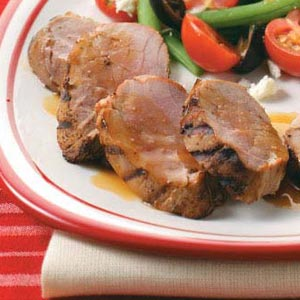 Teriyaki & Ginger Pork Tenderloins Recipe