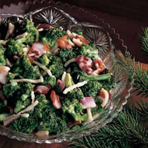 Fresh Broccoli Salad with Bacon Recipe