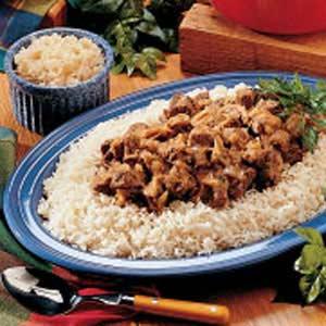 Bavarian Beef Dinner Recipe