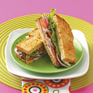 Apricot Turkey Sandwiches Recipe