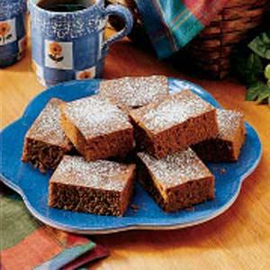 Ginger Bars Recipe